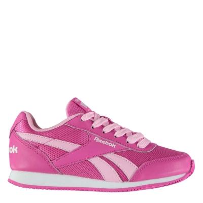 Adidasi sport Reebok clasic Jogger RS Child pentru fete roz alb