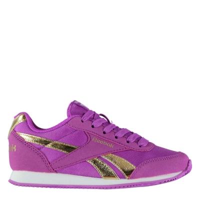 Adidasi sport Reebok clasic Jogger RS Child pentru fete violet auriu