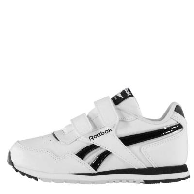 Adidasi sport Reebok Classics Glide pentru baieti alb negru gri