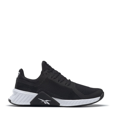 Adidasi sport Reebok FlashFilm pentru Barbati negru alb