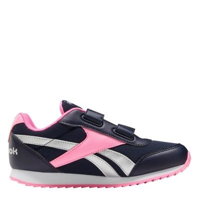 Adidasi sport Reebok Jogger RS Child pentru fete bleumarin roz