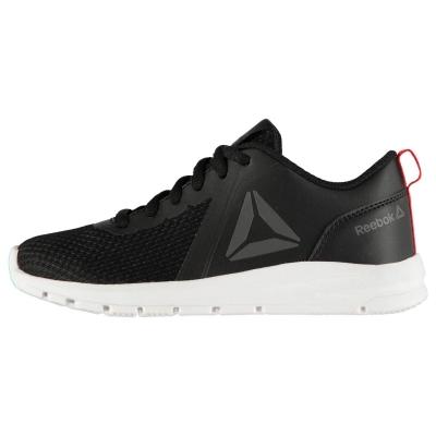 Adidasi sport Reebok ReeRush baieti negru rosu alb