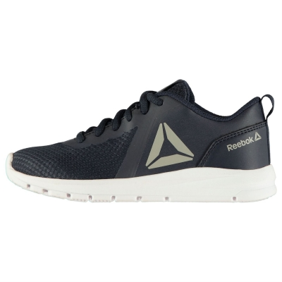 Adidasi sport Reebok ReeRush pentru baietei bleumarin argintiu alb