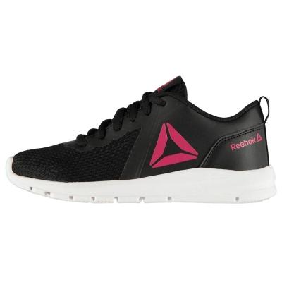 Adidasi sport Reebok ReeRush pentru fetite negru roz alb