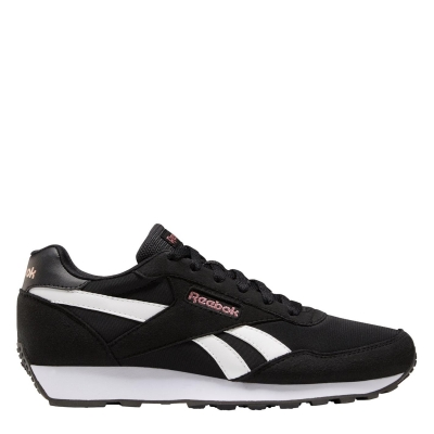 Adidasi sport Reebok Rewind negru alb