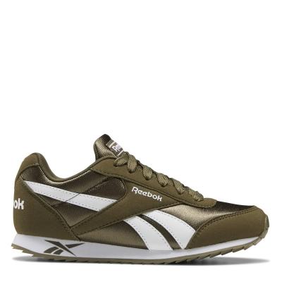 Adidasi sport Reebok Royal clasic pentru Copii kaki alb