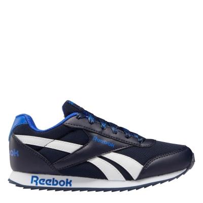 Adidasi sport Reebok Royal clasic pentru copii bleumarin alb