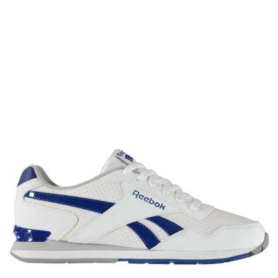 Adidasi sport Reebok Royal Glide Clip perforat pentru Barbati alb albastru roial
