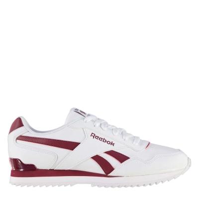 Adidasi sport Reebok Royal Glide pentru Barbati alb rosu burgundy