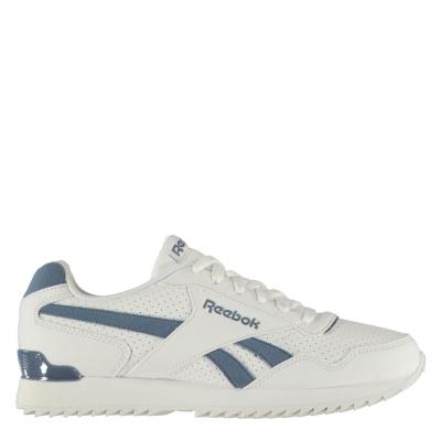 Adidasi sport Reebok Royal Glide Ripple Clip pentru Barbati alb albastru