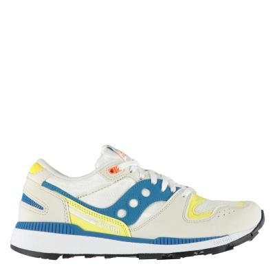 Adidasi sport Saucony Originals Azura ST pentru Barbati alb albastru galben