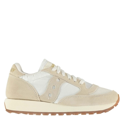 Adidasi sport Saucony Originals Jazz OG Vintage marshmallow alb