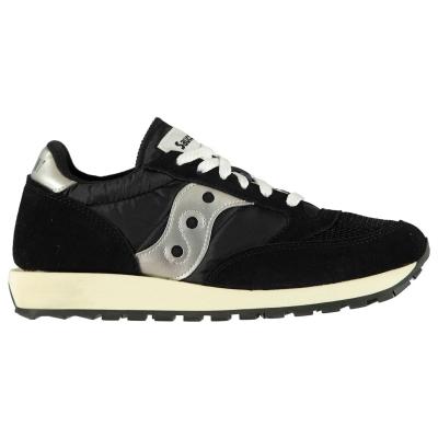 Adidasi sport Saucony Originals Jazz Original Vintage negru alb