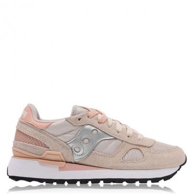 Adidasi sport Saucony Originals Shadow Original bej roz