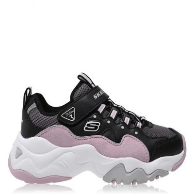 Adidasi sport Skechers Dlite Zen 2 pentru Copii negru roz