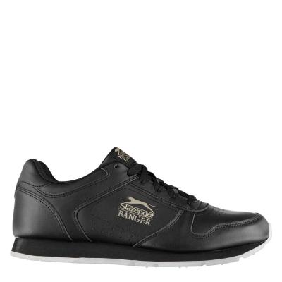 Adidasi sport Slazenger Banger clasic pentru Barbati negru tenn£r