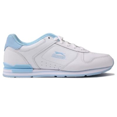 Adidasi sport Slazenger clasic pentru Femei alb pow albastru