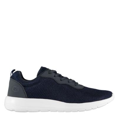 Adidasi sport Tapout Clip Run pentru baietei bleumarin alb