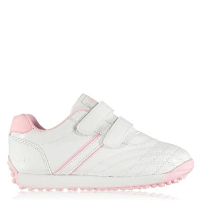 Adidasi sport Tapout Ox Juniors alb roz