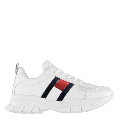 Adidasi sport Tommy Hilfiger Tommy Lace Chunky alb