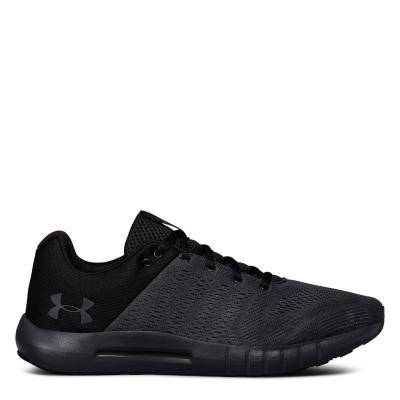 Adidasi sport Under Armour Micro G Pursuit pentru Barbati gri inchis negru
