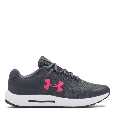 Adidasi sport Under Armour Pursuit BP pentru copii gri roz