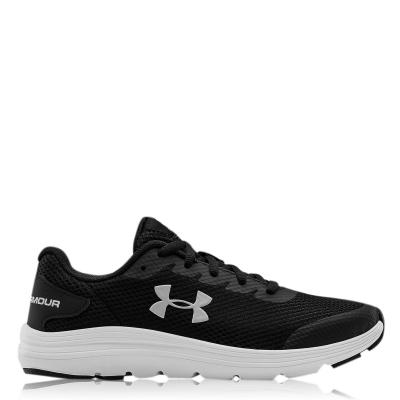 Adidasi sport Under Armour Surge 2 Juniors negru