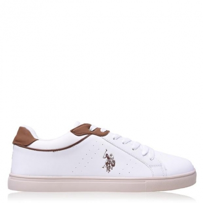 Adidasi sport US Polo Assn Curty alb whi cuo