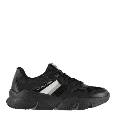 Adidasi sport US Polo Assn Ermes Chunky negru