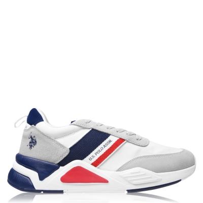 Adidasi sport US Polo Assn Low Top alb off