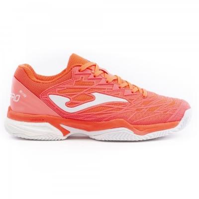 Adidasi tenis Tace Pro Joma 907 Coral toate suprafetele pentru Femei corai