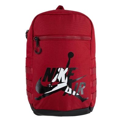 Rucsac Air Jordan Jordan JM clasic pentru baietei gym rosu
