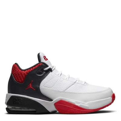 Air Jordan Max Aura 3 Big Shoe pentru Copii alb rosu negru