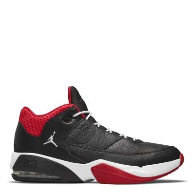 Air Jordan Max Aura 3 Shoe pentru Barbati negru alb rosu