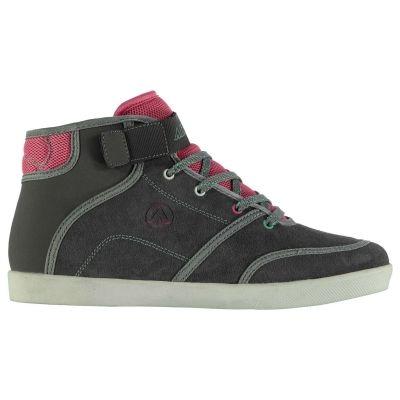 Airwalk Malibu Mid Skate Shoes pentru Femei gri menta roz