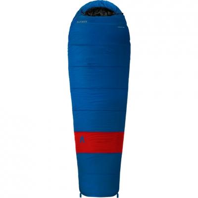 Alpinus Ultralite 1200 Cellar 210x75x50cm albastru-rosu DN43535