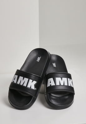 AMK Slides negru-alb