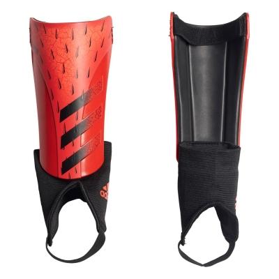 Aparatori adidas Predator Match pentru copii rosu negru
