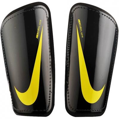 Aparatori fotbal Nike Mercurial Hard Shell negru-galben SP2128 060