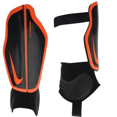 Protectie fotbal Nike Aparatori Flex pentru Barbati negru portocaliu