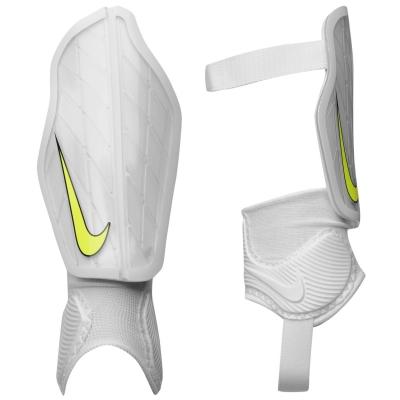 Aparatori Protectie fotbal Nike Flex alb negru