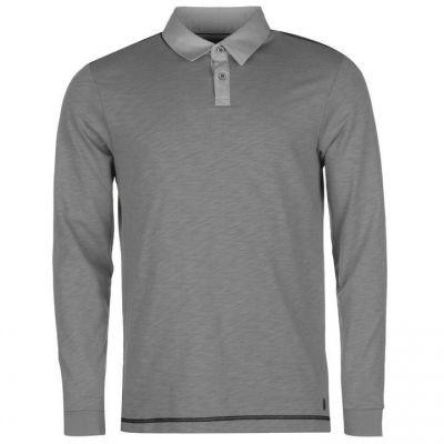 Ashworth cu Maneca Lunga Golf Shirt pentru Barbati