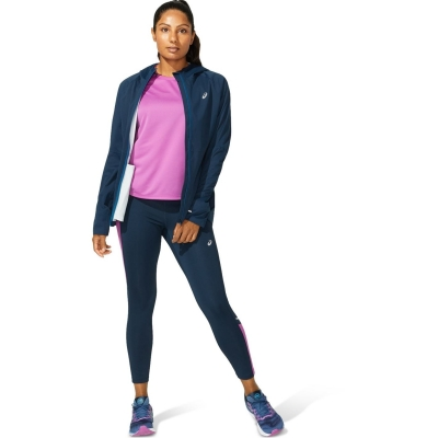 Jacheta Asics Accelerate pentru Femei french albastru