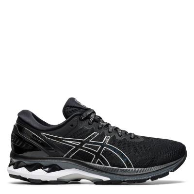 Adidasi alergare Asics Gel-Kayano 27 Road pentru femei negru argintiu