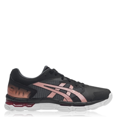 Asics Netburner Academy 8 Netball Shoe negru roz auriu
