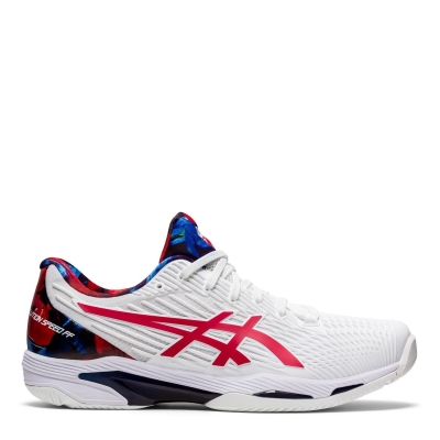 Adidasi de Tenis Asics Solution Speed FF 2 pentru Barbati alb rosu