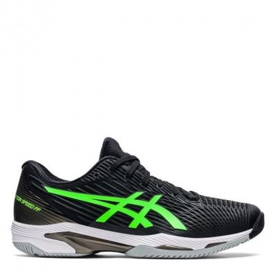 Adidasi de Tenis Asics Solution Speed FF 2 pentru Barbati negru verde