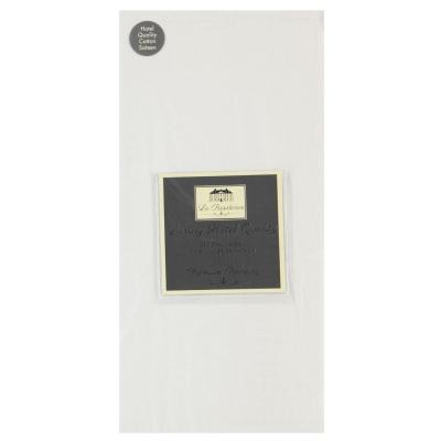 Asternuturi La Residence Luxury Sheet alb