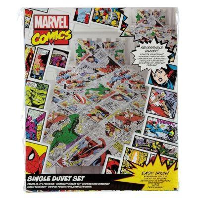 Asternuturi New Marvel Set cu personaje