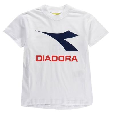 Tricou Diadora Auckland pentru Copii alb